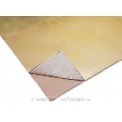 Zlatá samolepící tepelná izolace Thermotec 61x61cm